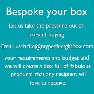 Bespoke your Box, a great service where you let us know your requirements and we create a box full of fabulous products