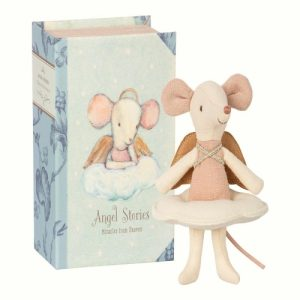 Maileg Angel Book Mouse, gorgeous girls girls gift_resized
