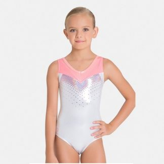 Sylvia P Mother of Pearl Leotard