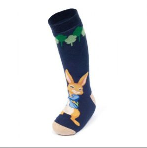 Peter Rabbit welly sock