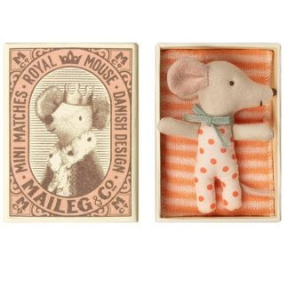 maileg baby girl mouse boxed, sleepy wakey spring summer 2019
